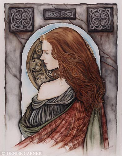 Resultado de imagem para mulher celta