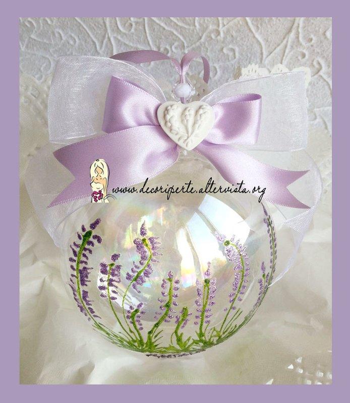 Decori per te decori per matrimonio e altre occasioni for Lampadario palline vetro
