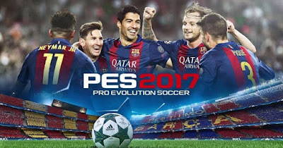 PES 2017 Mod Apk + Data OBB for Jellybean dan Kitkat