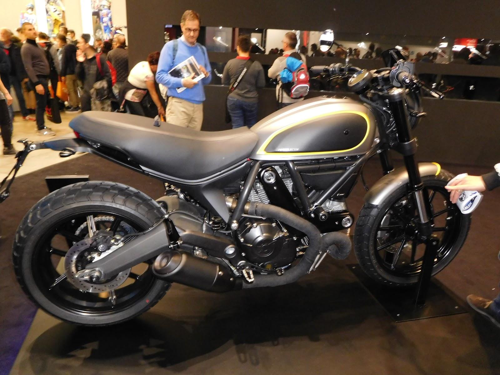 Rizoma Modified Ducati Scrambler Flat Track Racer from NYDucati