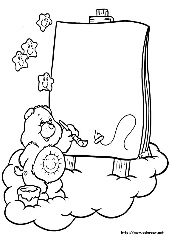 artist coloring pages for preschool - photo #12