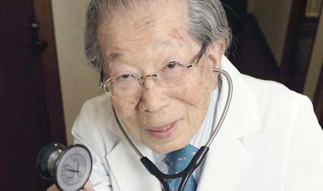 Doctor japonés de 105 años de edad recomienda estos 12 consejos para mantenernos saludables