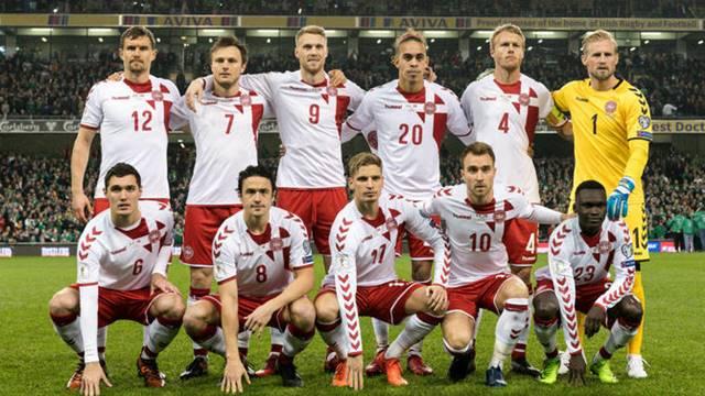 Timnas Denmark di Piala Dunia 2018