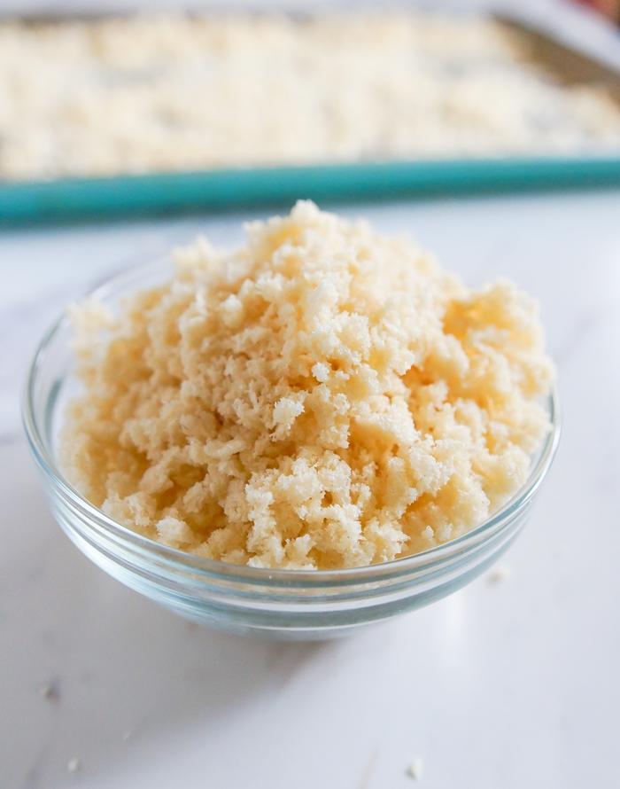 How to Make Homemade Panko Breadcrumbs