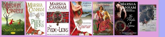 portadas del libro Orgullo de casta, de Marsha Canham