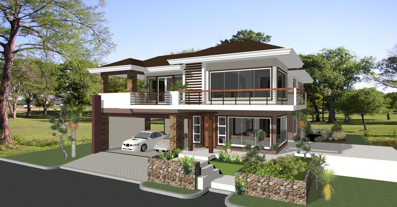 Beautiful Home Construction And Design Contemporary Decorating