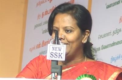 Parveen Sultana Speech At Perambalur Bookfair 2016