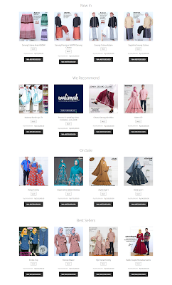 hijab walimah mode katalog