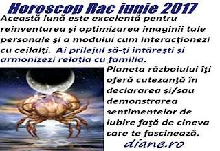 Horoscop iunie 2017 Rac