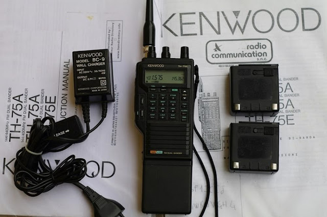 Kenwood TH-75E UHF VHF