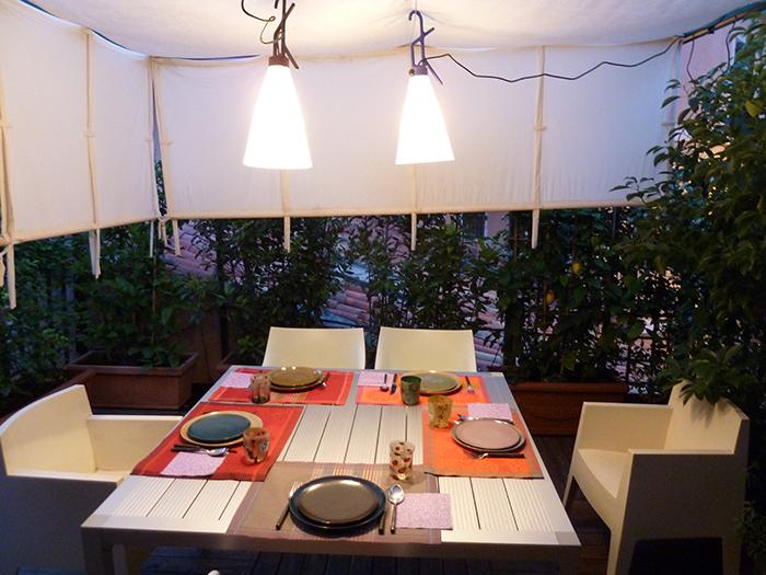 Aaa accademia affamati affannati giugno la prima cena - Cucina sul terrazzo ...
