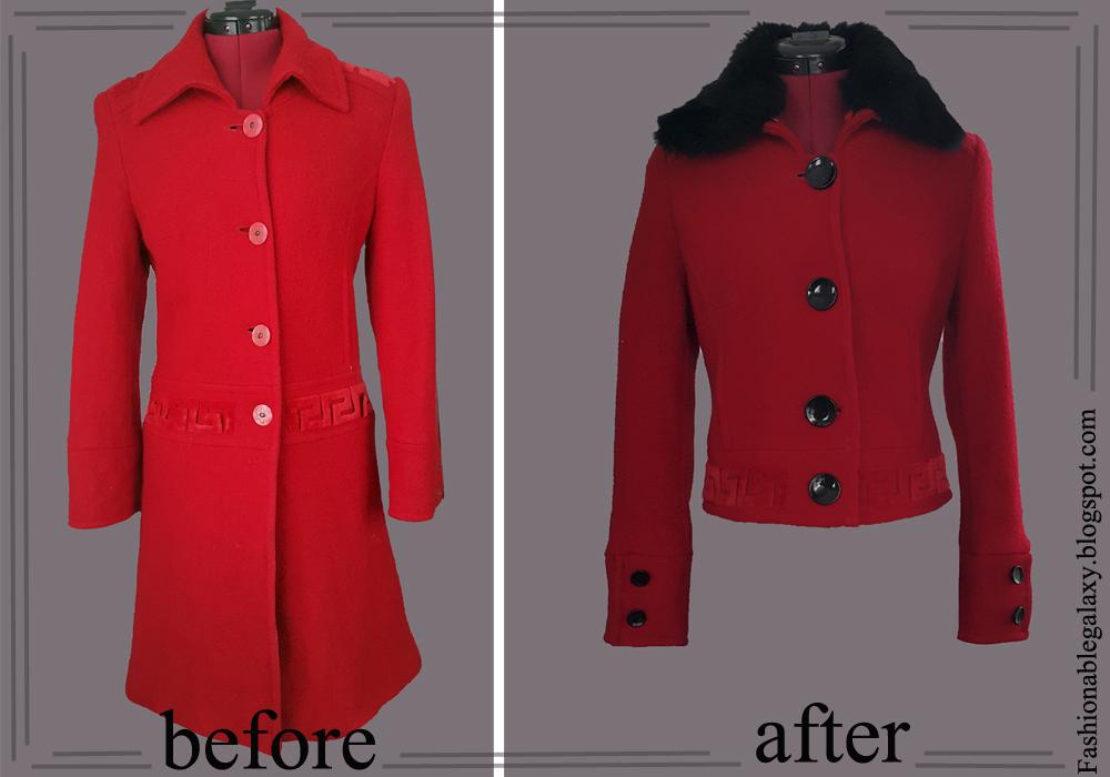 fashionablegalaxy, пальто своими руками