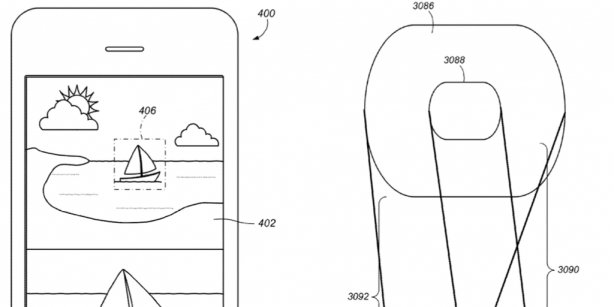 An Apple patent suggests an iPhone with double rear camera