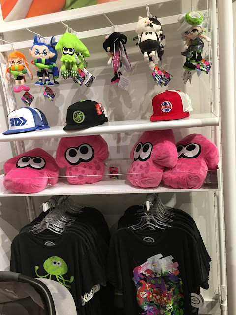 Nintendo NY New York Splatoon plushies hats shirts Inkling Boy Girl Squid Callie Marie Judd