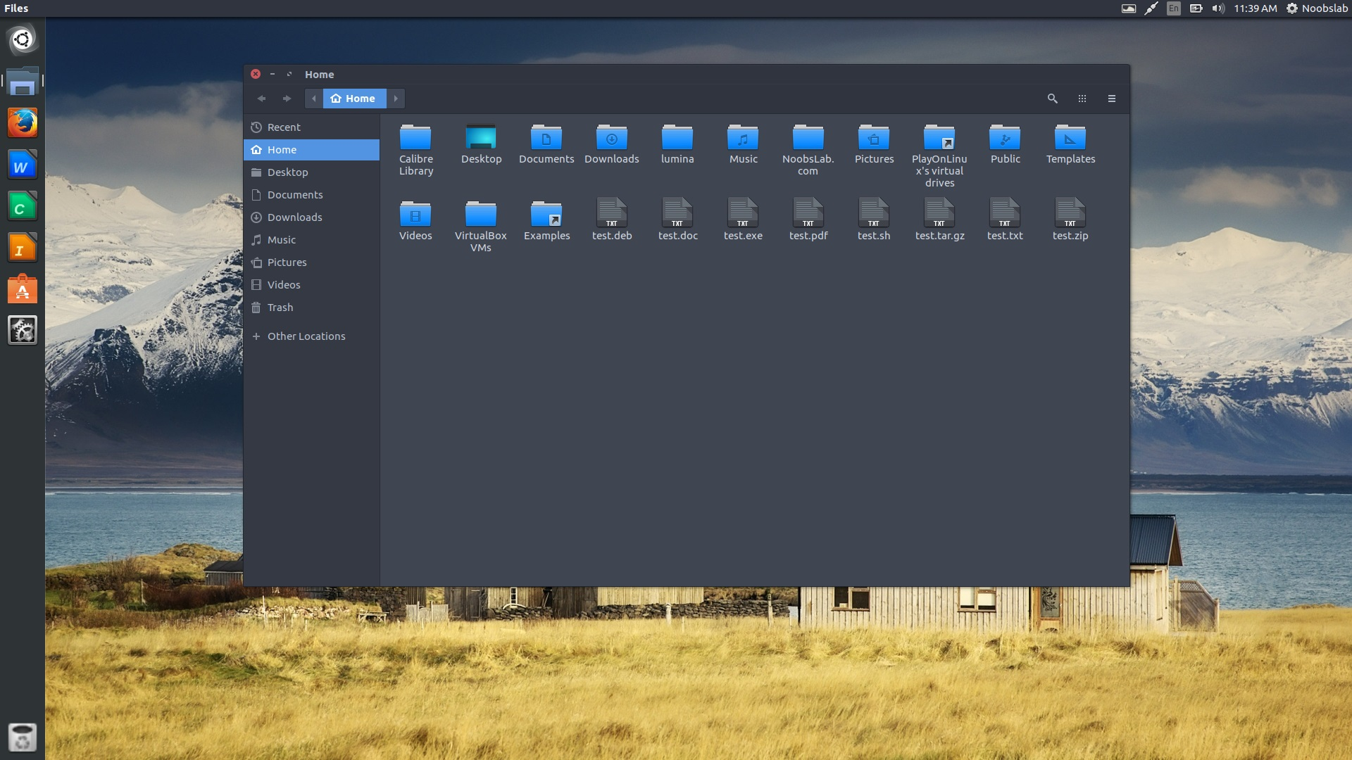 Obsidian Icon Theme Based On Faenza And It Revives Desktop