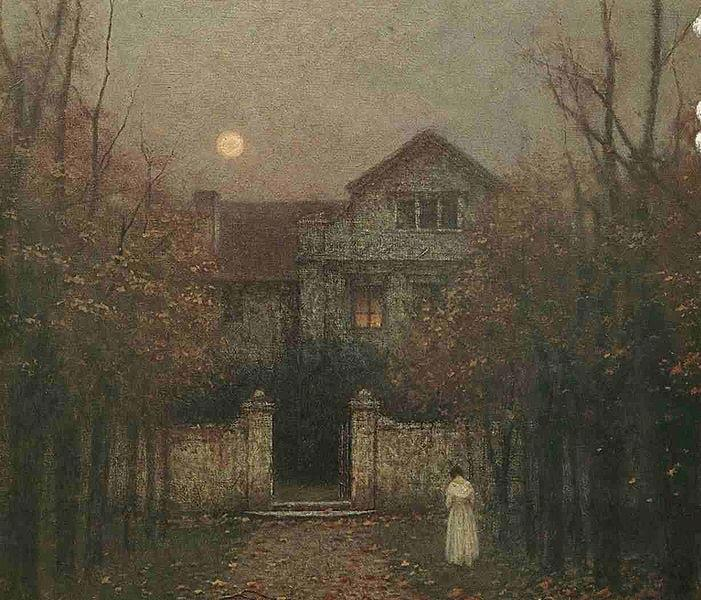Jakub Schikaneder 1855-1924 | Czech painter | The Mysterious Moods