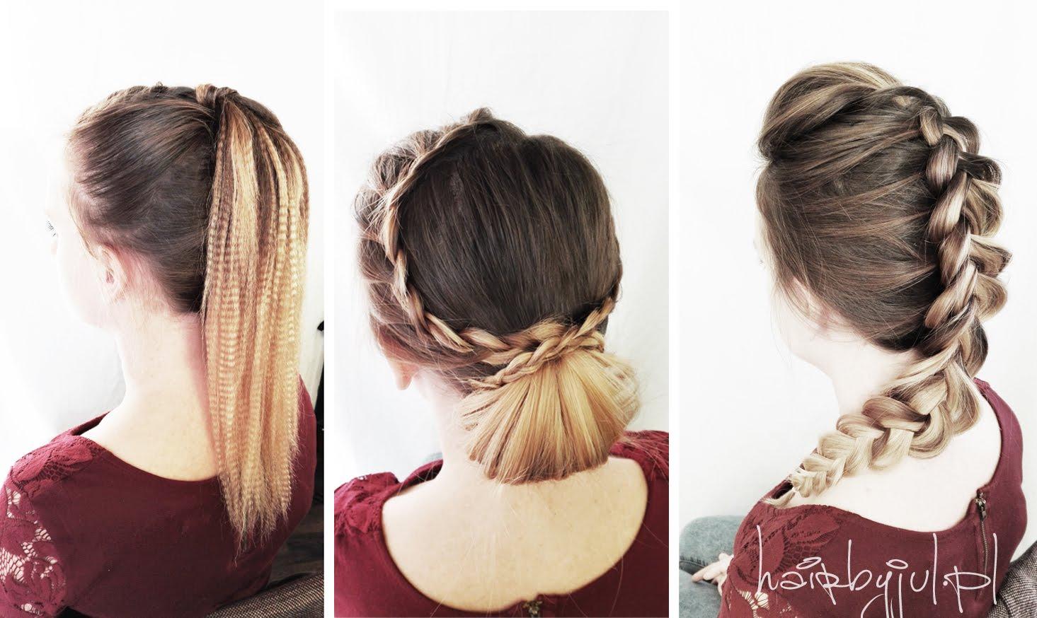 3 Fryzury Na Sylwestra Krok Po Kroku Hair By Jul Fryzury