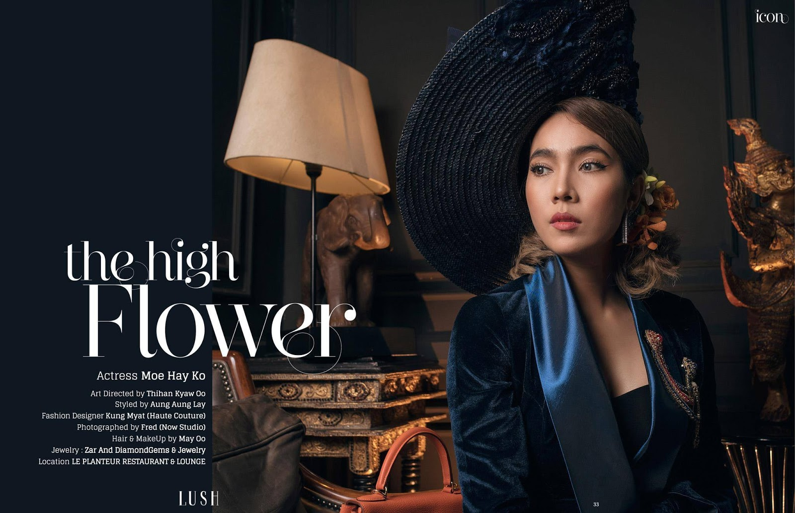 Moe Hay Ko Feature In Lush Magazine Cover-papawady