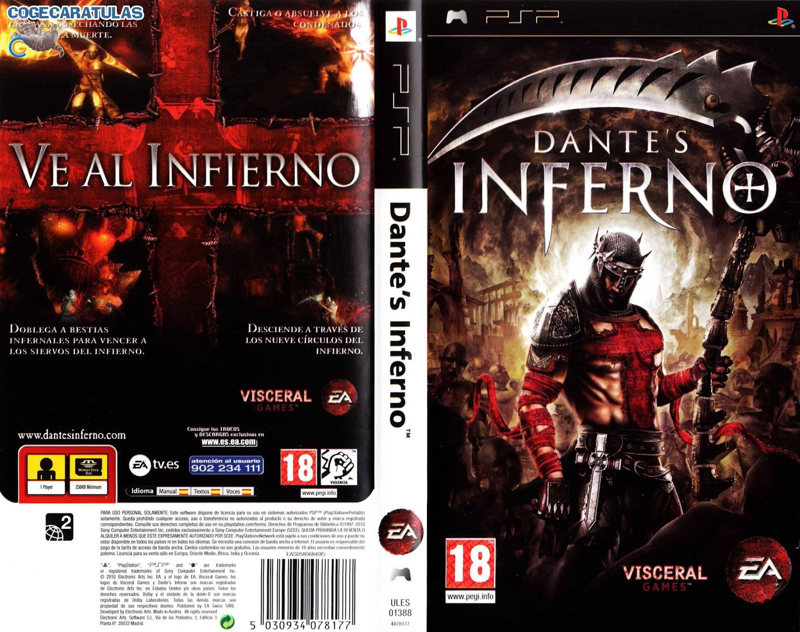 Dante's inferno: an animated epic on steam.