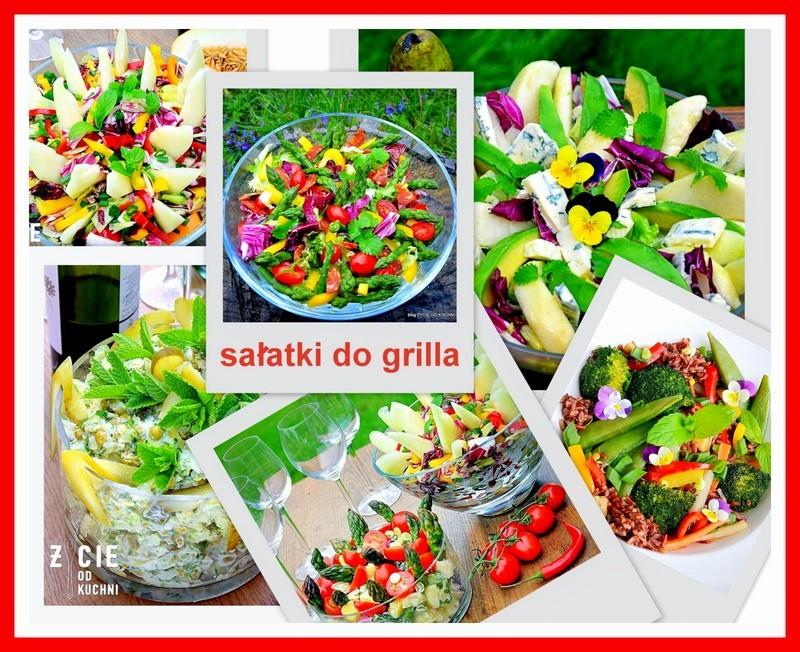 grill, salatki do grilla, czerwiec, sezonowa kuchnia, przepisy sezonowe czerwiec, truskawki, szparagi,bob, wiosenne przepisy, zycie od kuchni, hulali po polu i pili kakao