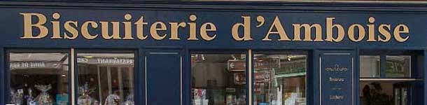 magasin de déstockage de la biscuiterie d'Amboise