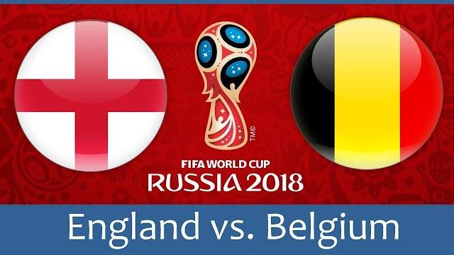 Belgium vs England Full Match Replay 14 July 2018