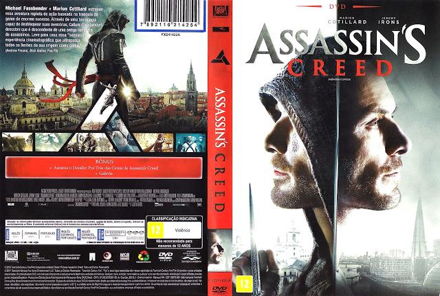 Capa DVD ASSASSIN´S CREED