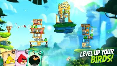 تحميل لعبة angry birds 2 مهكرة للاندرويد اخر اصدار