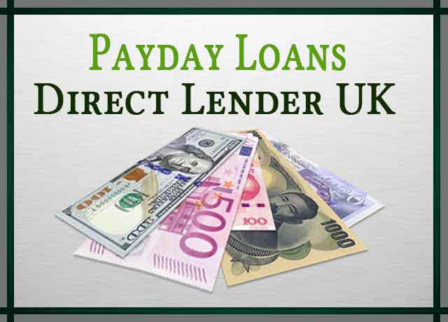 Payday Loans Direct Lender UK