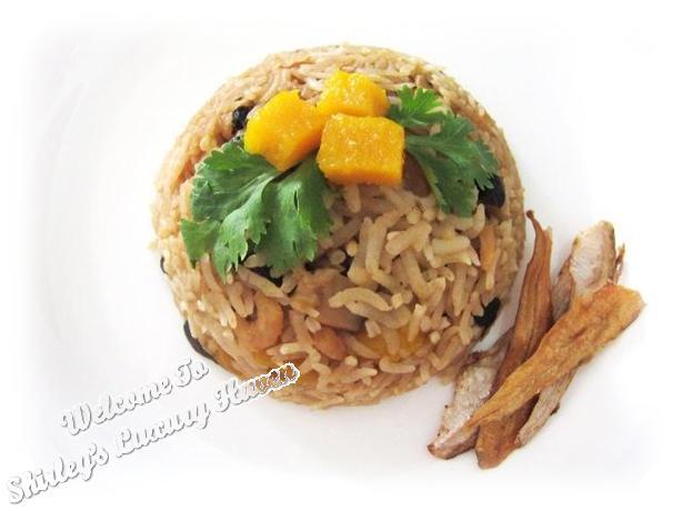 pumpkin rice halloween recipe