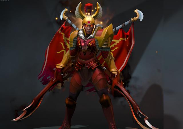 Mod Legion Commander - Blades of Voth Domosh Arcana