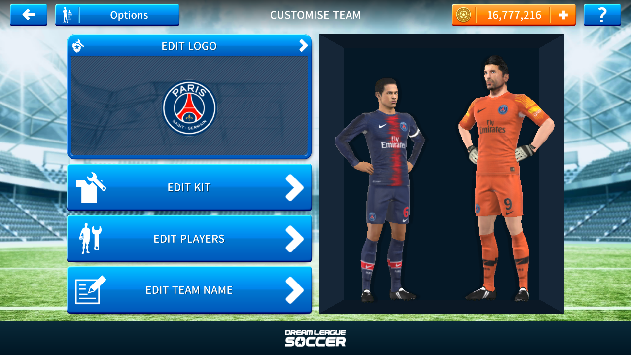 reputable site e02ef 048e5 How To Create PSG Team In Dream League Soccer 2019 | PSG ...