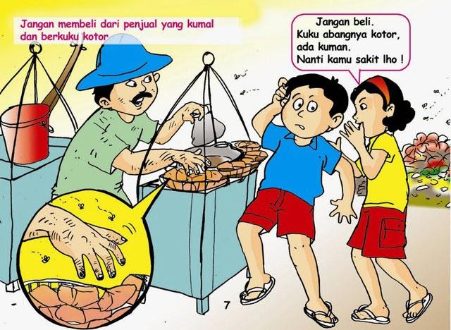 Gambar Kartun Keluarga Dengan 2 Anak Laki Laki Keren