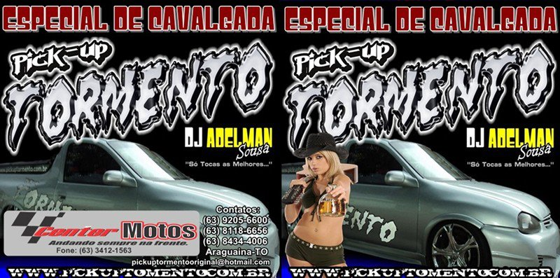 cd pick up tormento 2012