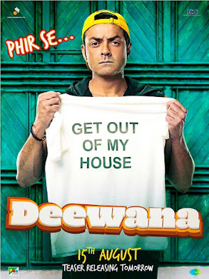 Bobby Deol yamla pagla deewana phir se first look posters poster