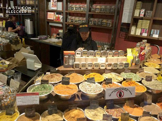 Chelsea Market Nueva York especies