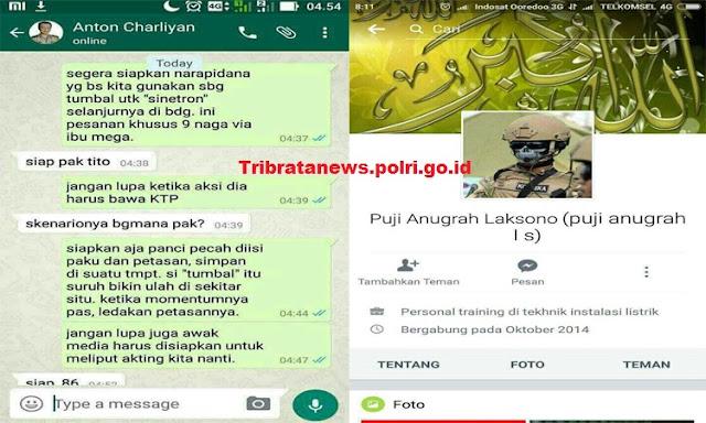 Polisi Tangkap Perekayasa Chat Hoax Kapolri dan Kapolda Jabar