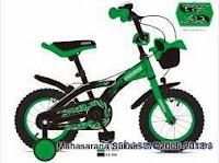 Sepeda Anak Evergreen EG1262 Police 12 Inci