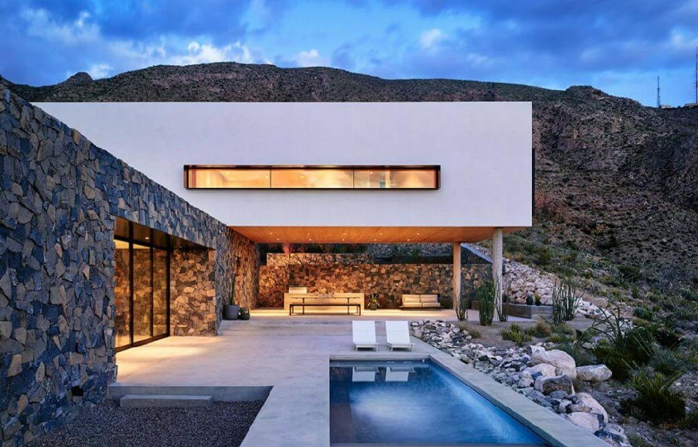 Progettare una villa con patio blog di arredamento e for Progettare gli interni di casa