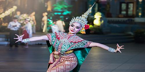 Bangkok, bailarina