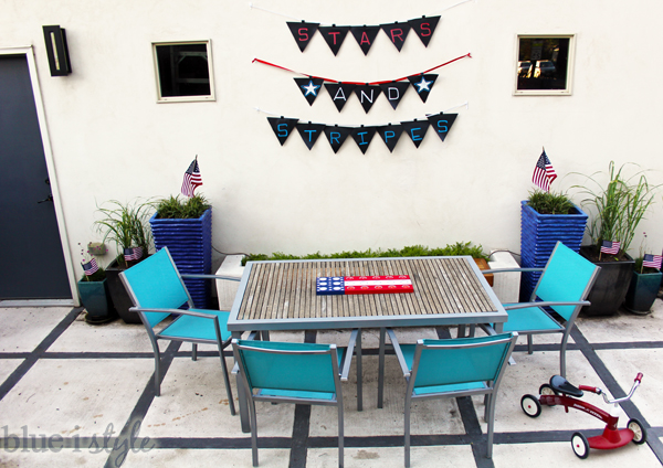 4th Of July Backyard Decor