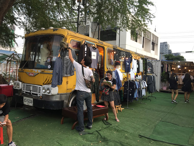 bangkok artbox bus installation