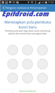 Cara Lock / Mengunci pada Setiap Aplikasi di Android