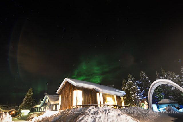 瑞典, 冰酒店, 北極光, Icehotel, aurora, northern light