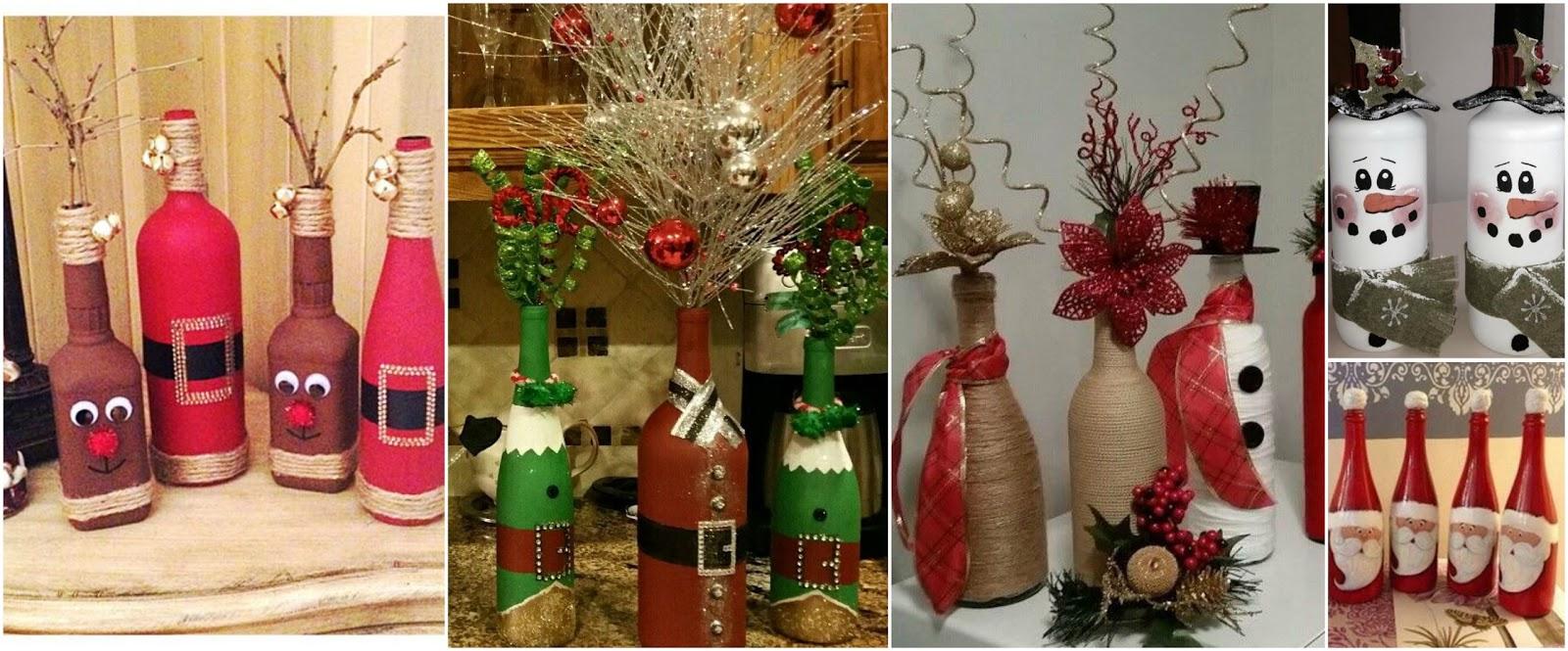 12 ideas incre bles para reciclar y decorar botellas en for Ideas para decorar botellas