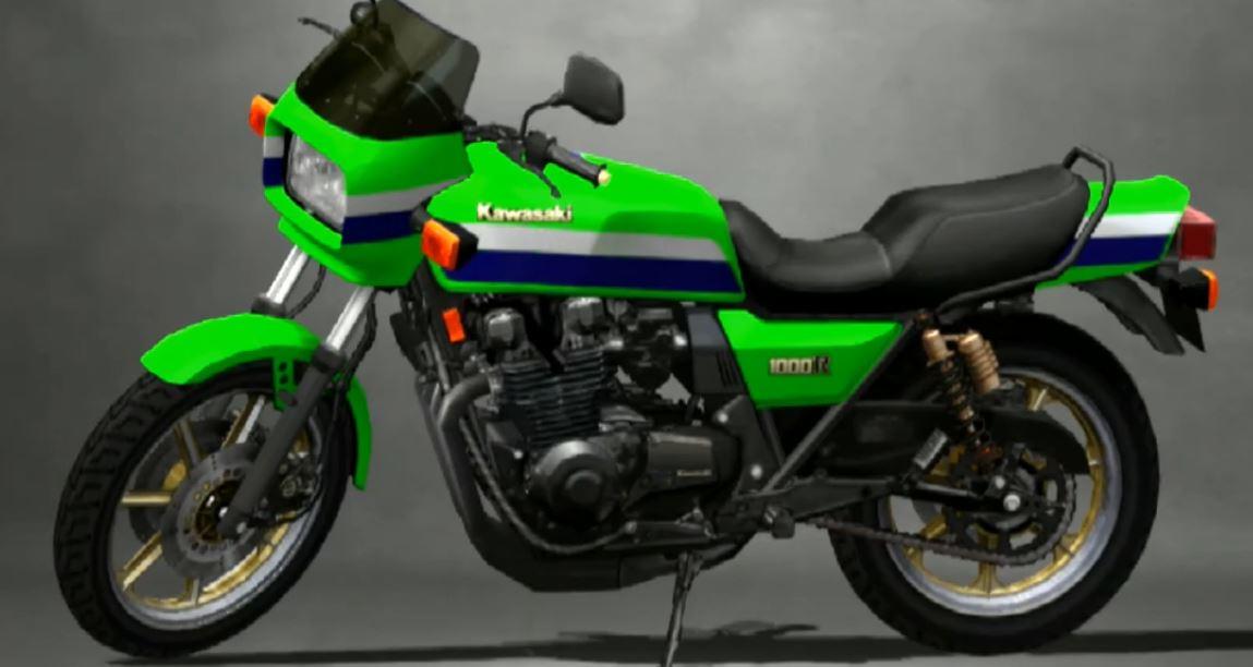Kawasaki Z1000 R1 1982