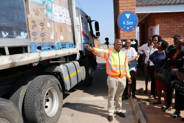 Maximum Health Check Deployed At Botswana's Border Gates