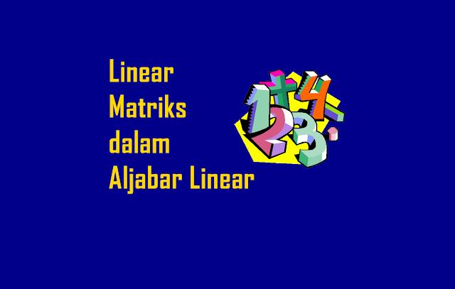 Persamaan Linear dengan Matriks dalam Aljabar Linear