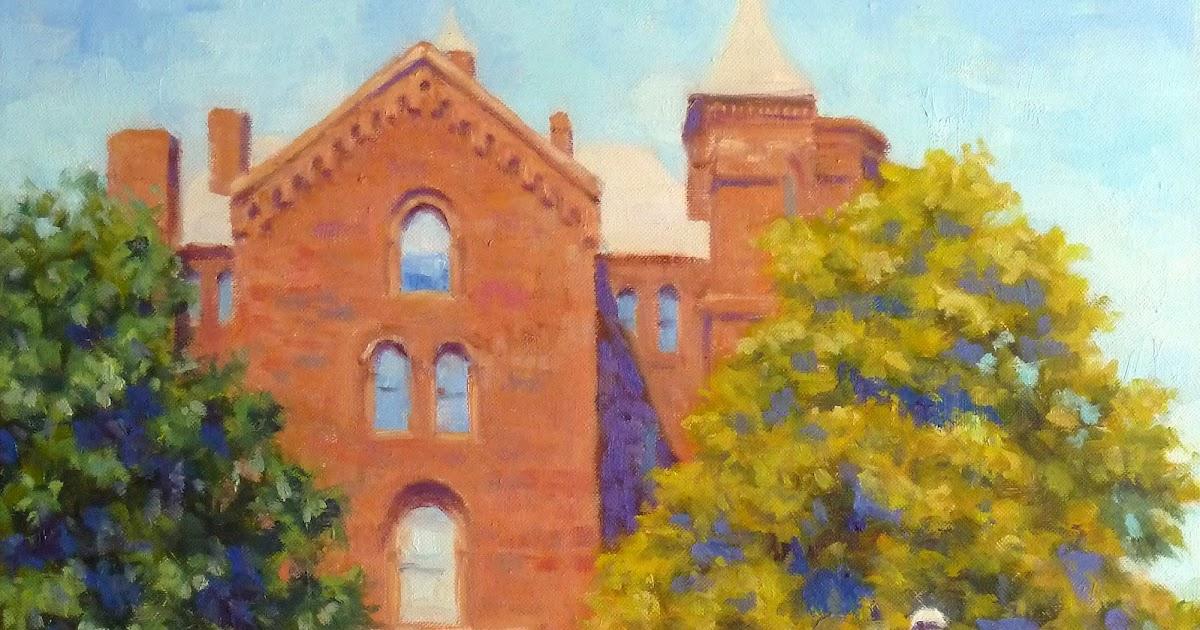 Kim Stenberg S Painting Journal Quot Smithsonian Castle Rose