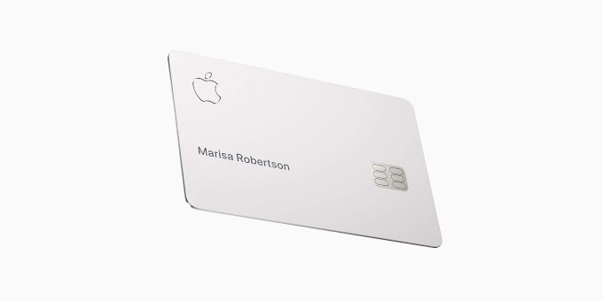 Meet the Apple Card: Titanium build, daily cash, no fees